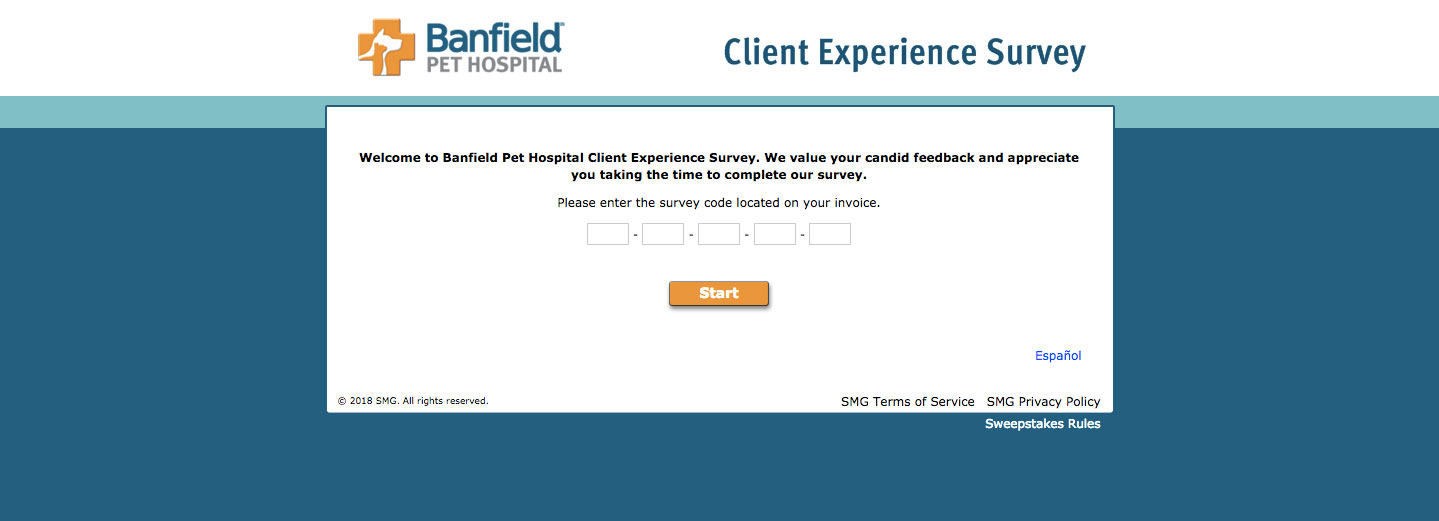 Banfield Pet Hospital Satisfaction Survey