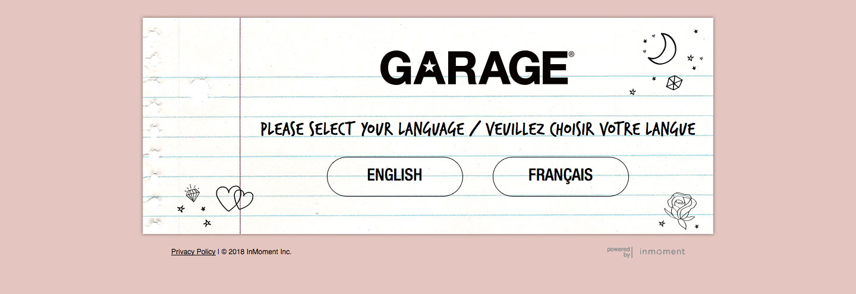 Garage Client Experience Survey