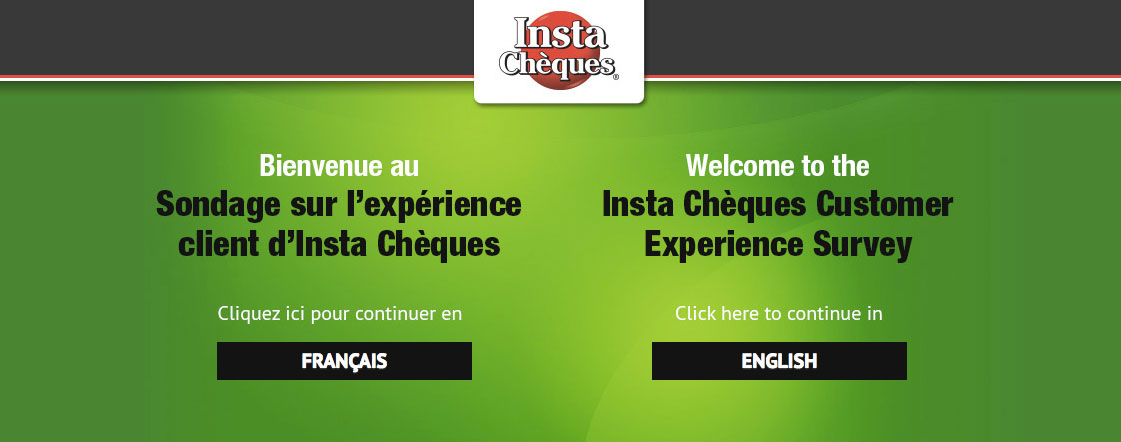 Insta Chèques Customer Experience Survey