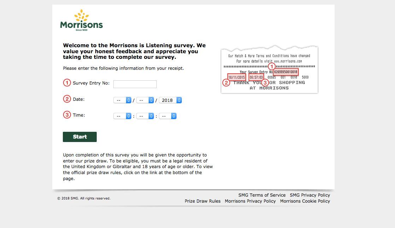 Morrisons Guest Survey