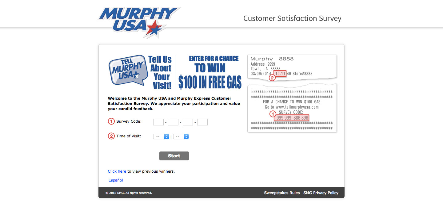 Murphy USA Customer Service Survey