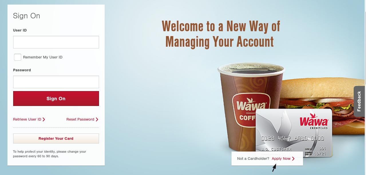 Wawa Credit Card Apply