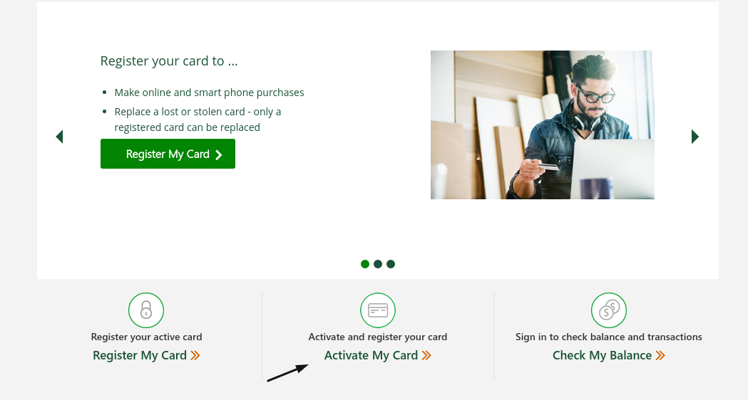 TD Bank Gift Card Activate