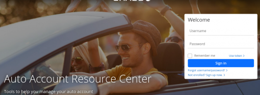 www.chase.com – Access To Chase Bank Auto Loan Account