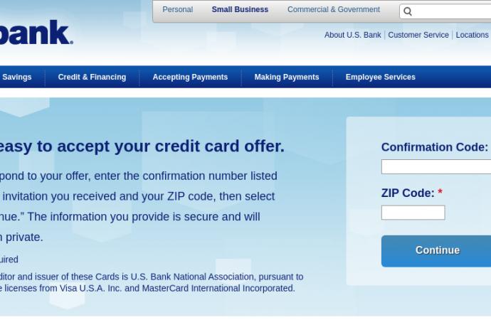 www.usbank.com/mybizoffer – Check Your US Bank Credit Card Offer