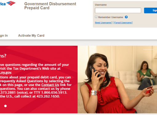 www.bankofamerica.com/nyrefund – How to Claim Bank of America Government Disbursement Prepaid Card