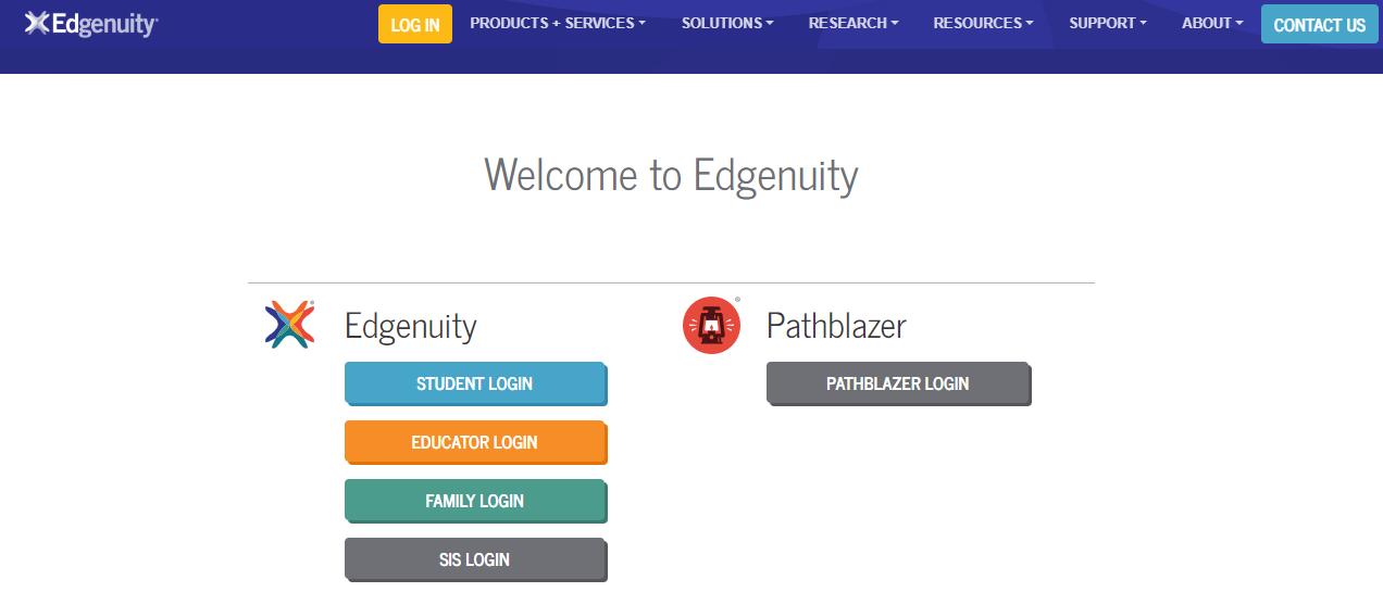 Edgenuity Students login