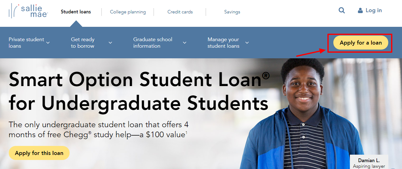Guide to Apply for Sallie Mae Smart Option Student Loan