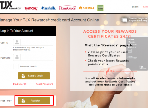 www.tjxrewards.com/increase – How to Log into TJX Rewards Credit Card Online Account