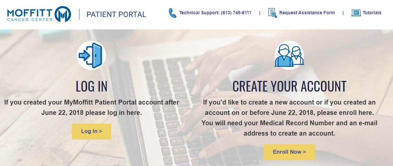 Moffitt Patient enroll
