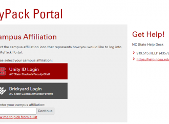 mypack.ncsu.edu – Login To Your NC University MyPack Account