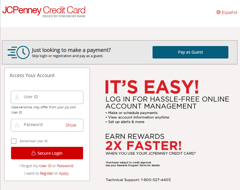 JCPenney MasterCard