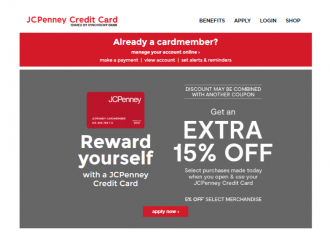 www.jcpenneymastercard.com – JCPenney Credit Card Login & Application Guide