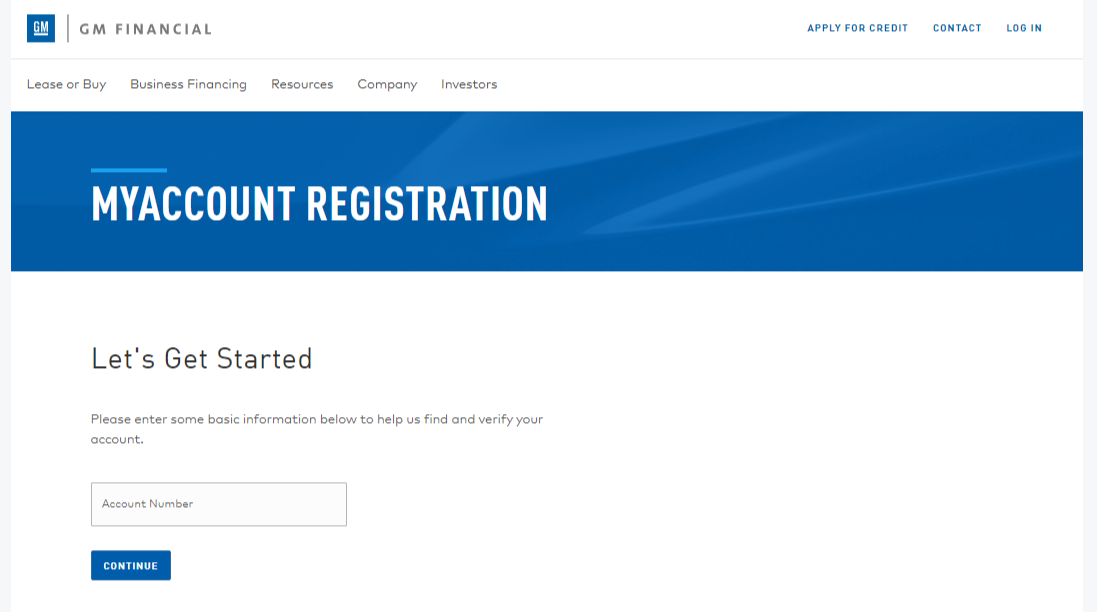 General Motors Financial Login