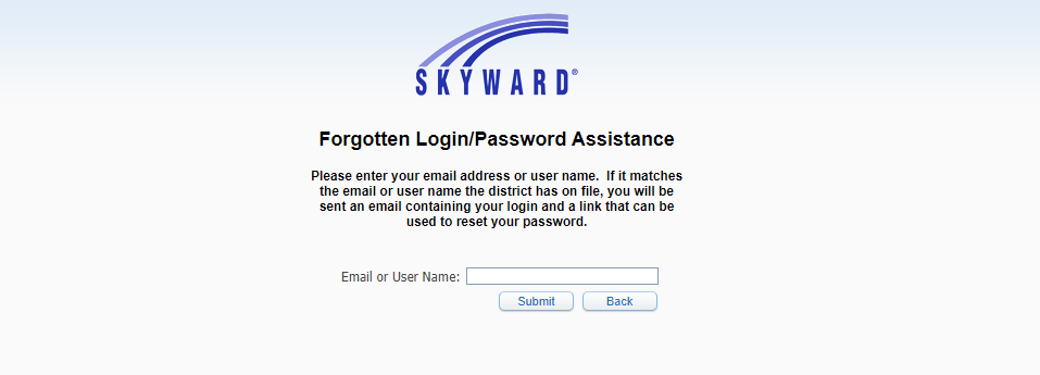 Skyward Account