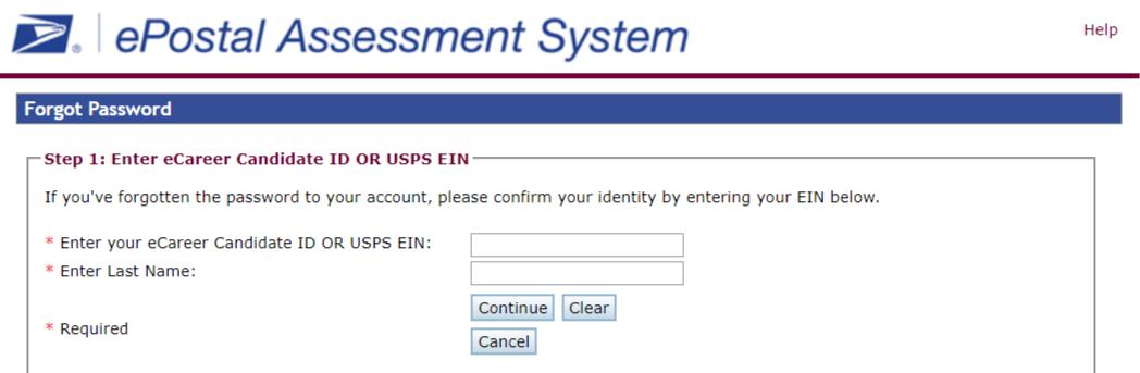 USPS Eportal login