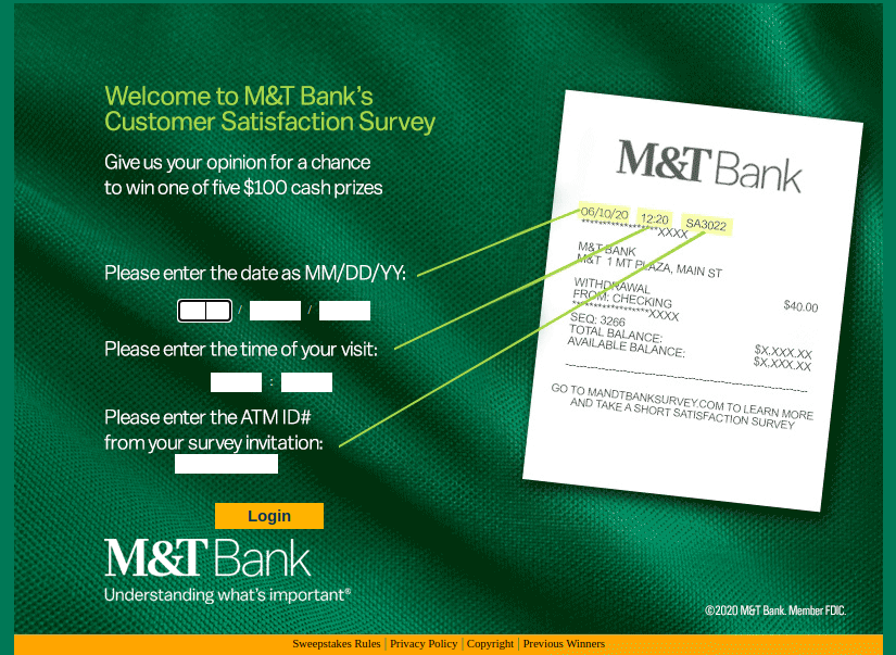 MT Bank Customer Survey