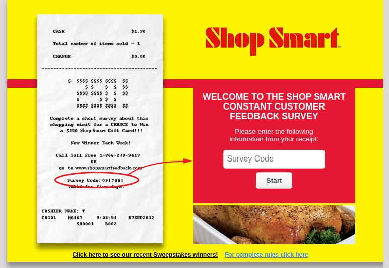 Shop Smart Survey