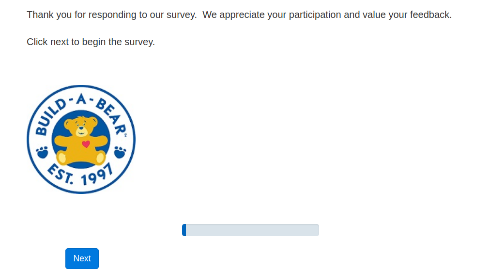 build-a-bear survey